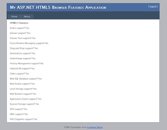 Update Visual Studio for HTML5 Development with  Net