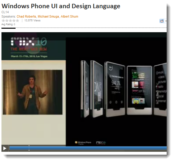 Windows Phone UI and Metro Design Language