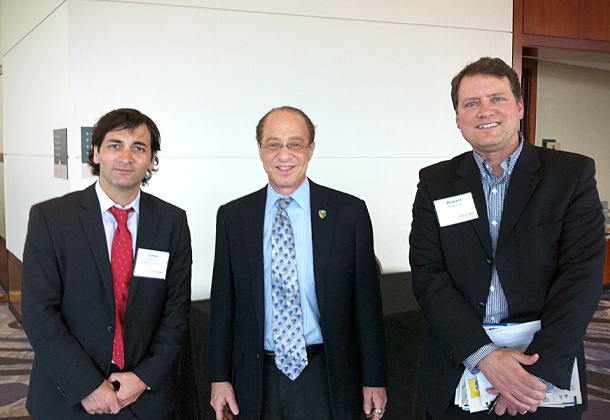 Cesar DOnofrio, Robert Matthews & Ray Kurzweil at GTS 2013