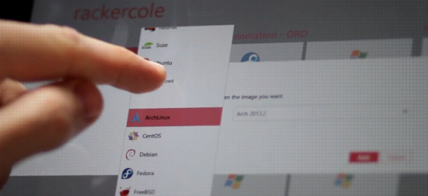 Rackspace cloud for Windows 8 app