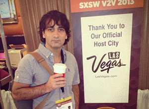 CEO Cesar DOnofrio at SXSW event in Las Vegas
