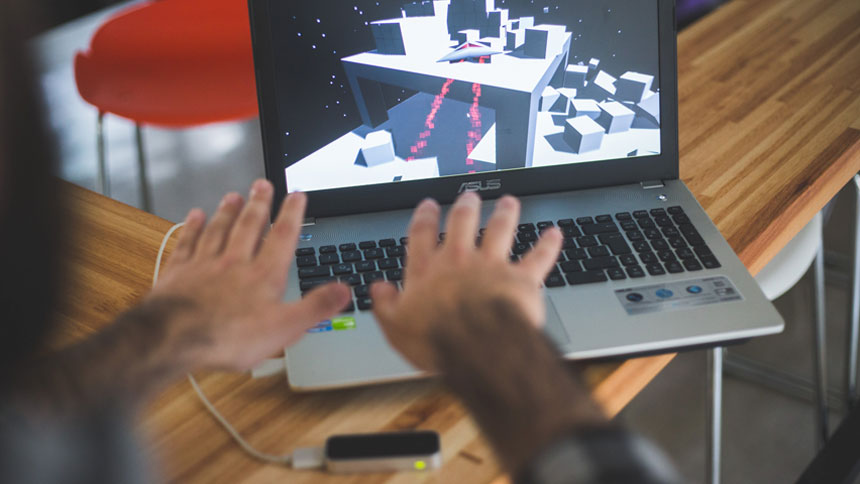 Shannox on Leap Motion