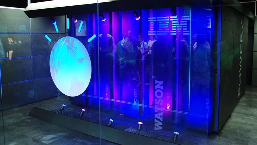 Watson, the smartest IBM computer.
