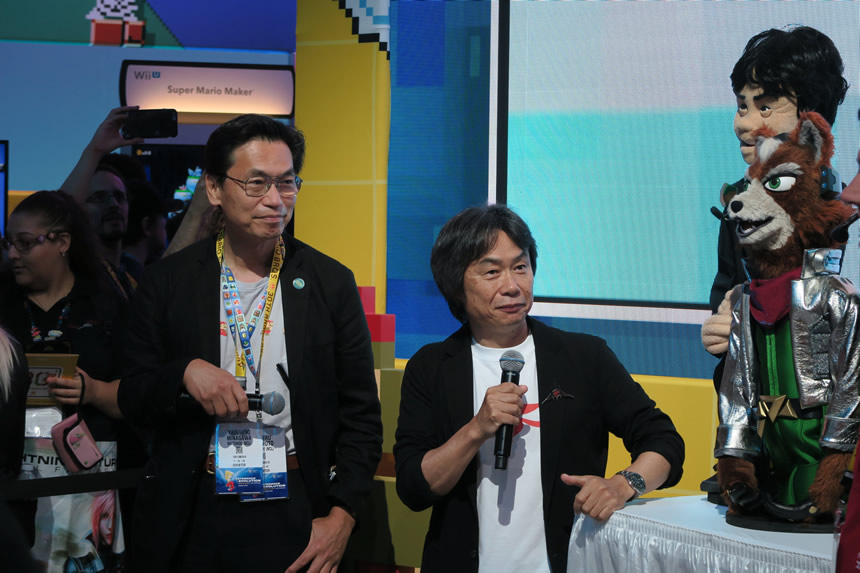 Nintendo's own Miyamoto